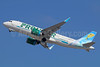 Frontier Airlines (2nd) Airbus A320-251N WL N310FR (msn 7600) (Sunny, the Collared Lizard) SNA (Michael B. Ing). Image: 938796.