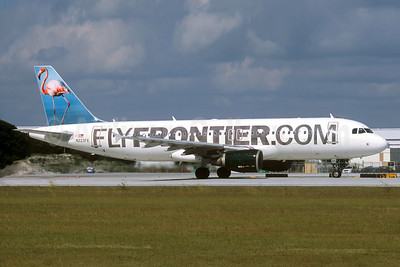 FlyFrontier.com (Frontier Airlines 2nd) Airbus A320-214 N223FR (msn 2695) (Flamingo) FLL (Christian Volpati Collection). Image: 933133.