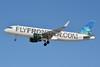 FlyFrontier.com (Frontier Airlines 2nd) Airbus A320-214 WL N220FR (msn 5661) (Sharklets) (Tiger Shark) LAS (Jay Selman). Image: 402326.