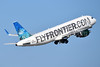 FlyFrontier.com (Frontier Airlines 2nd) Airbus A320-214 WL N220FR (msn 5661) (Tiger Shark) MIA (Bruce Drum). Image: 104314.
