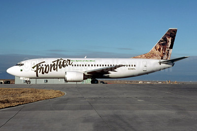 Frontier Airlines (2nd) Boeing 737-36E N316FL (msn 25264) (Fox) DEN (Christian Volpati Collection). Image: 949031.