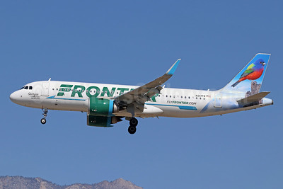 Frontier Airlines (2nd) Airbus A320-251N WL N317FR (msn 7835) (Georgia, the Painted Bunting) ONT (Michael B. Ing). Image: 941131.