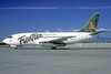 Frontier Airlines (2nd) Boeing 737-201 N214AU (msn 20214) (Fawn) DEN (Christian Volpati Collection). Image: 937913.