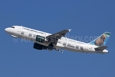 Frontier Airlines (2nd) Airbus A320-214 N211FR (msn 4688) (Grizzly Bear) LAX (Michael B. Ing). Image: 944746.