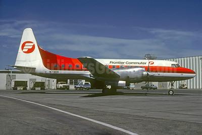 Frontier Commuter Convair 580 N73108 (msn 11) DEN (Robert E. Garrard). Image: 928468.