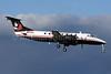 Frontier Alaska (Frontier Flying Service) Beech (Raytheon) 1900C N575Z (msn UC-136) (Frontier Flying Service colors) ANC (Michael B. Ing). Image: 903218.