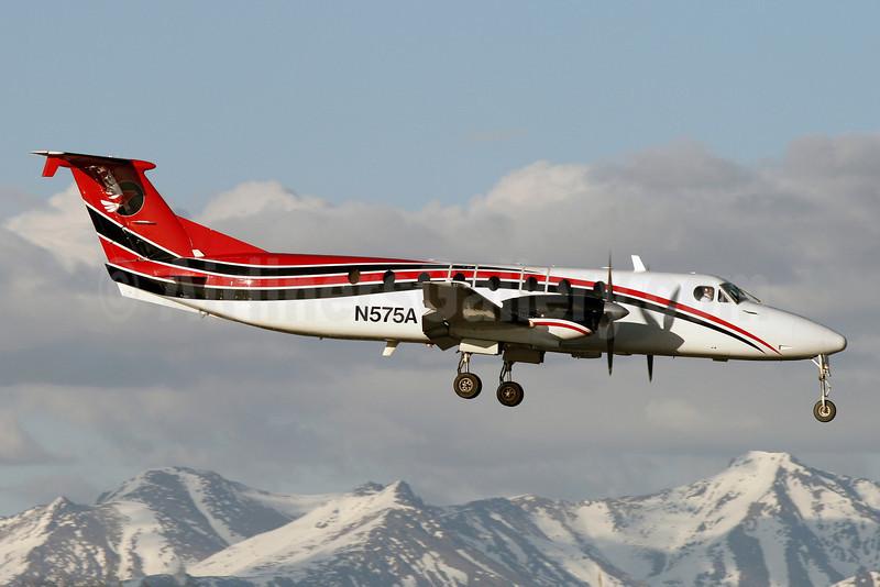 Frontier Alaska (Frontier Flying Service) Beech (Raytheon) 1900C N575A (msn UC-83) (Era colors) ANC (Brian McDonough). Image: 921244.