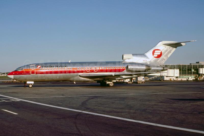 Frontier Horizon Boeing 727-23 N1931 (msn 19389) LGA (Keith Armes). Image: 928470.