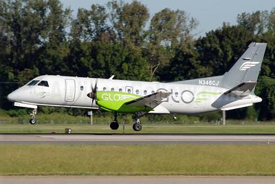 GLO Airlines (flyGLO.com) (Corporate Flight Management) SAAB 340B N346CJ (msn 346) LIT (Jason Hamm). Image: 938901.