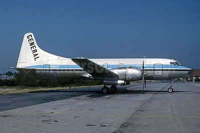General Aviation Convair 340-62 N96CF (msn 196) (Linjeflyg colors) ROA (Christian Volpati Collection). Image: 945195.