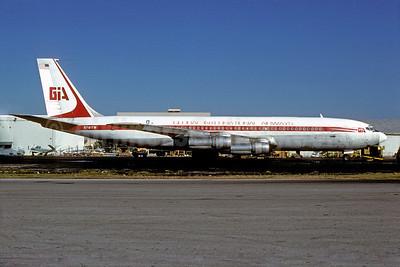 Global International Airways-GIA Boeing 707-331C N791TW (msn 18756) MIA (Bruce Drum). Image: 103055.