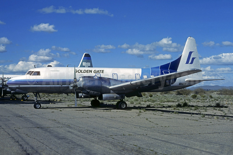 Golden Gate Airlines Convair 580 N116GS (msn 2) (Gem State colors) MZJ (Christian Volpati Collection). Image: 936711.