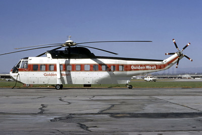 Golden West Airlines Sikorsky S-61L N304V (msn 61-266) LAX (Ted J. Gibson - Bruce Drum Collection). Image: 944165.