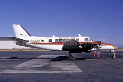 Golden West Airlines Beech 99 N9991 (msn U-91) SFO (Ted J. Gibson - Bruce Drum Collection). Image: 944168.
