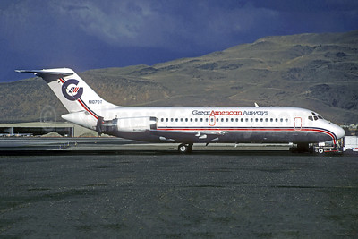 Great American Airways McDonnell Douglas DC-9-15 N1070T (msn 45784) (Jacques Guillem Collection). Image: 943333.