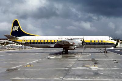 Gulf Air Transport Lockheed 188C Electra N8355C (msn 1135) MIA (Bruce Drum). Image: 103057.