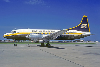 Gulf Air Transport Convair 580 N4801C (msn 30) OKC (Christian Volpati Collection). Image: 936569.