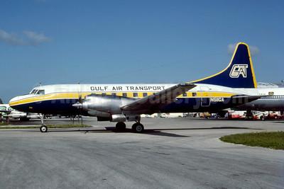 Gulf Air Transport Convair 580 N511GA (msn 39) MIA (Bruce Drum). Image: 103060.
