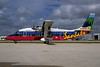 Gulfstream International Airlines Shorts SD3-60 N262GA (msn SH3739) (Sandals) MIA (Bruce Drum). Image: 102148.