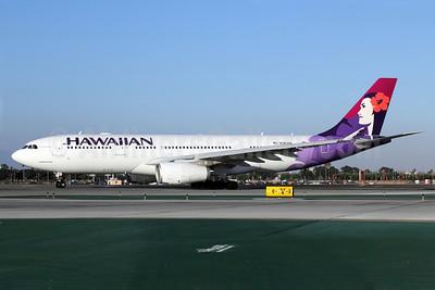 Hawaiian Airlines Airbus A330-243 N383HA (msn 1217) LAX. Image: 907157.