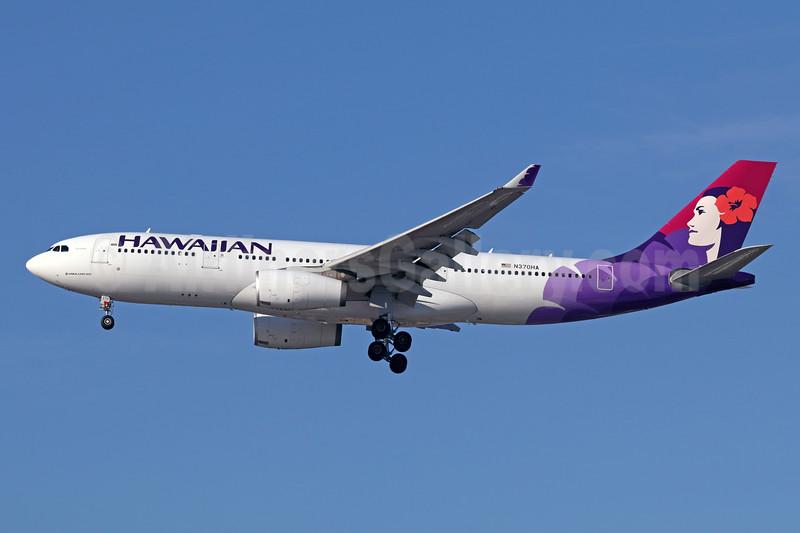 Hawaiian Airlines Airbus A330-243 N370HA (msn 1511) LAX (Michael B. Ing). Image: 941702.