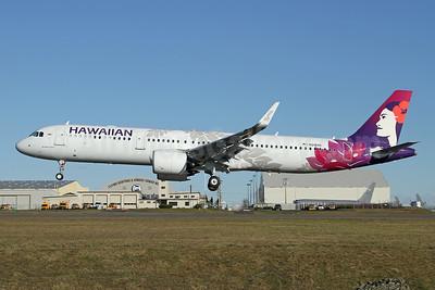 Hawaiian Airlines Airbus A321-271N WL N218HA (msn 8764) PAE (Nick Dean). Image: 945838.