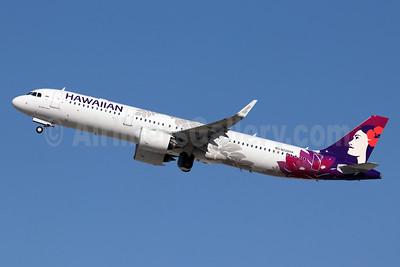 Hawaiian Airlines Airbus A321-271N WL N226HA (msn 9127) LAX (Michael B. Ing). Image: 948204.