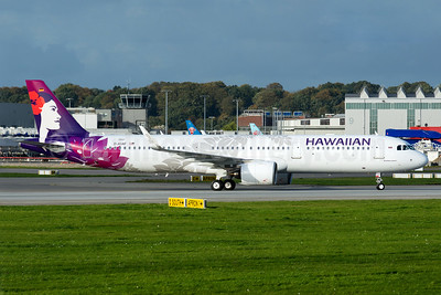 The first Airbus A321neo for Hawaiian