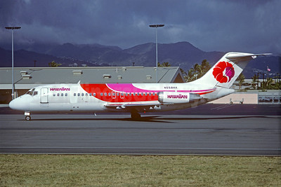 Hawaiian Air Douglas DC-9-15 N558HA (msn 47045) HNL (Christian Volpati Collection). Image: 926961.