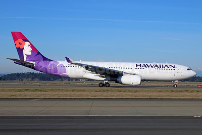 Hawaiian Airlines Airbus A330-243 N395HA (msn 1469) SEA (Michael B. Ing). Image: 929072.