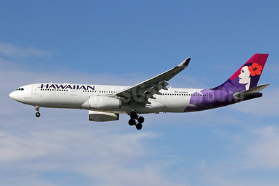 Hawaiian Airlines Airbus A330-243 N380HA (msn 1104) LAX (Michael B. Ing). Image: 906040.