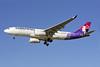 Hawaiian Airlines Airbus A330-243 N386HA (msn 1302) LAX (Steve Bailey). Image: 922853.