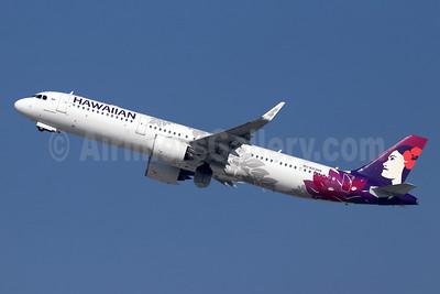 Hawaiian Airlines Airbus A321-271N WL N213HA (msn 8237) LAX (Michael B. Ing). Image: 948259.