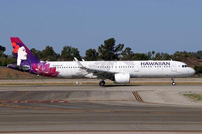 Hawaiian Airlines Airbus A321-271N WL N204HA (msn 7959) LGB (Michael B. Ing). Image: 942740.