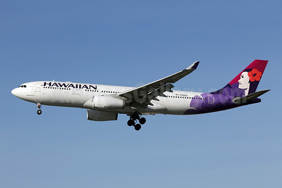 Hawaiian Airlines Airbus A330-243 N381HA (msn 1114) LAX (Michael B. Ing). Image: 907737.