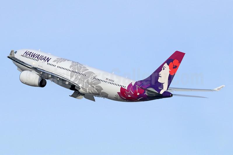 Hawaiian Airlines Airbus A330-243 N361HA (msn 1823) LAX (Michael B. Ing). Image: 940253.
