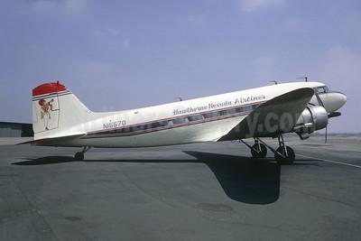 Crashed into Mount Whitney, near Lone Pine, CA on February 18, 1969, killing 35