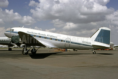 Hawthorne Nevada Airlines Douglas DC-3A-228D N33639 (msn 4085) LGB (Bruce Drum Collection). Image: 945924.