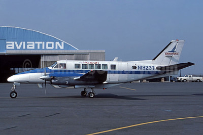 Henson Airlines-Piedmont Regional Airline Beech 99A Airliner N1923T (msn U-132) BWI (Jay Selman). Image: 400494.