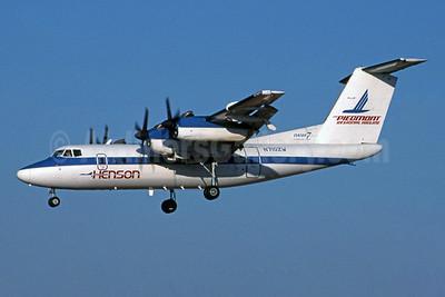 Henson Airlines-Piedmont Regional Airline de Havilland Canada DHC-7-102 Dash 7 N710ZW (msn 70) CLT (Jay Selman). Image: 400535.