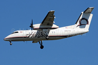 Horizon Air Bombardier DHC-8-202 (Q200) N357PH (msn 504) SEA (Bruce Drum). Image: 101021.