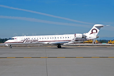 Horizon Air Bombardier CRJ700 (CL-600-2C10) N603QX (msn 10011) SEA (Bruce Drum). Image: 101525.