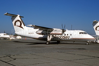 Horizon Air Bombardier DHC-8-102 N829PH (msn 304) SEA (Bruce Drum). Image: 102989.