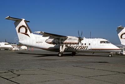 Horizon Air Bombardier DHC-8-102 N829PH (msn 304) SEA (Bruce Drum). Image: 102989.