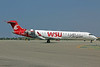Horizon Air Bombardier CRJ700 (CL-600-2C10) N616QX (msn 10128) (WSU Cougars) LAX. Image: 907156.