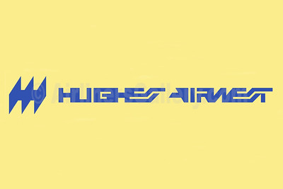 1. Hughes Airwest logo