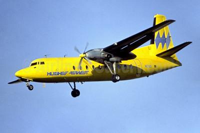 Hughes Airwest Fairchild F-27A N1782 (msn 207) LAX (Ron Monroe). Image: 945105.