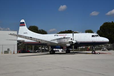 IFL Group Convair 580 N141FL (msn 111) MIA (Bruce Drum). Image: 104985.