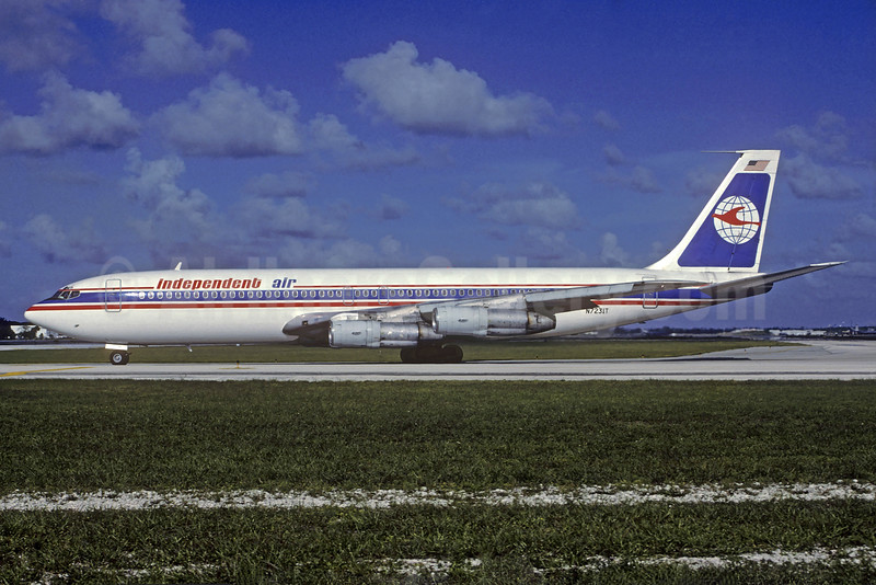Independent Air Boeing 707-331B N7231T (msn 19572) FLL (Christian Volpati Collection). Image: 932217.