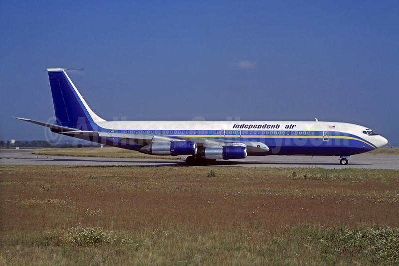 Independent Air Boeing 707-323B N457PC (msn 20178) (Ports of Call colors) ORY (Christian Volpati Collection). Image: 932216.